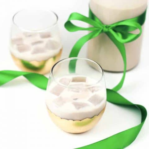 Homemade Irish Cream Liqueur makes an amazing gift, and tastes just like the real thing! Perfect for celebrating St. Patrick's Day or enjoying a nightcap anytime.(via feastandwest.com)
