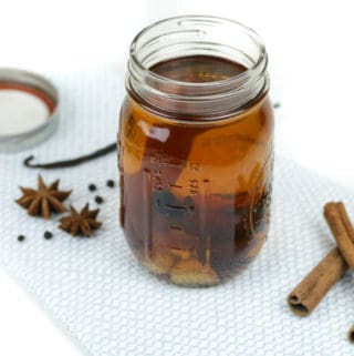 Homemade Spiced Rum is the queen of all spiced rums, because you can flavor it yourself! It's so easy, and way better than storebought. It makes the perfect addition to every drink from a Cuba Libre to a tiki cocktail.(via feastandwest.com)