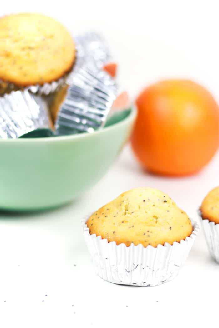 Orange Poppy Seed Muffins are a sweet way to start the morning! Make a few dozen of these twists-on-a-classic to serve at your next brunch or baby shower, or even Easter.
