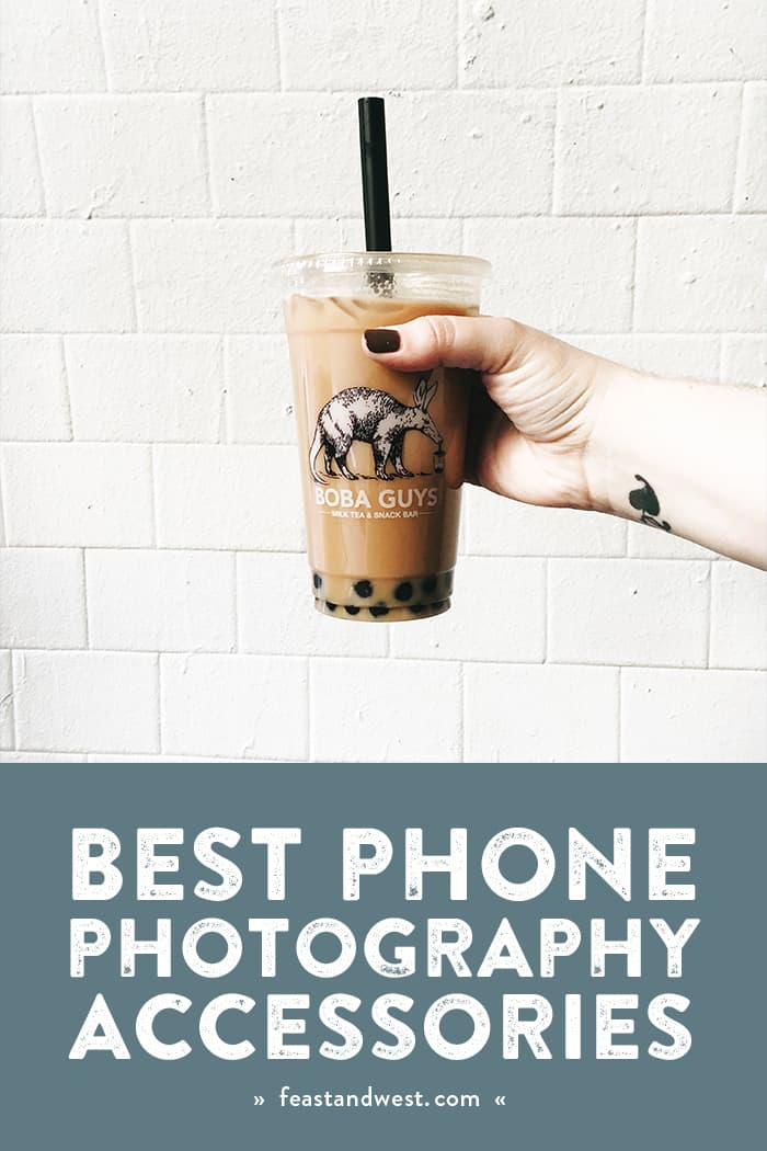 If the best camera is the one you have with you, the same goes for the best phone photography accessories — which is why you need all of these. From lenses to tripods to lights, these portable camera phone accessories are must-haves for anyone who wants to up their Instagram game. (via feastandwest.com)