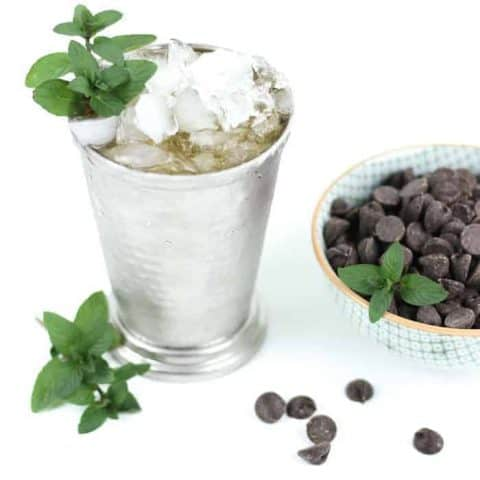 Chocolate Mint Julep