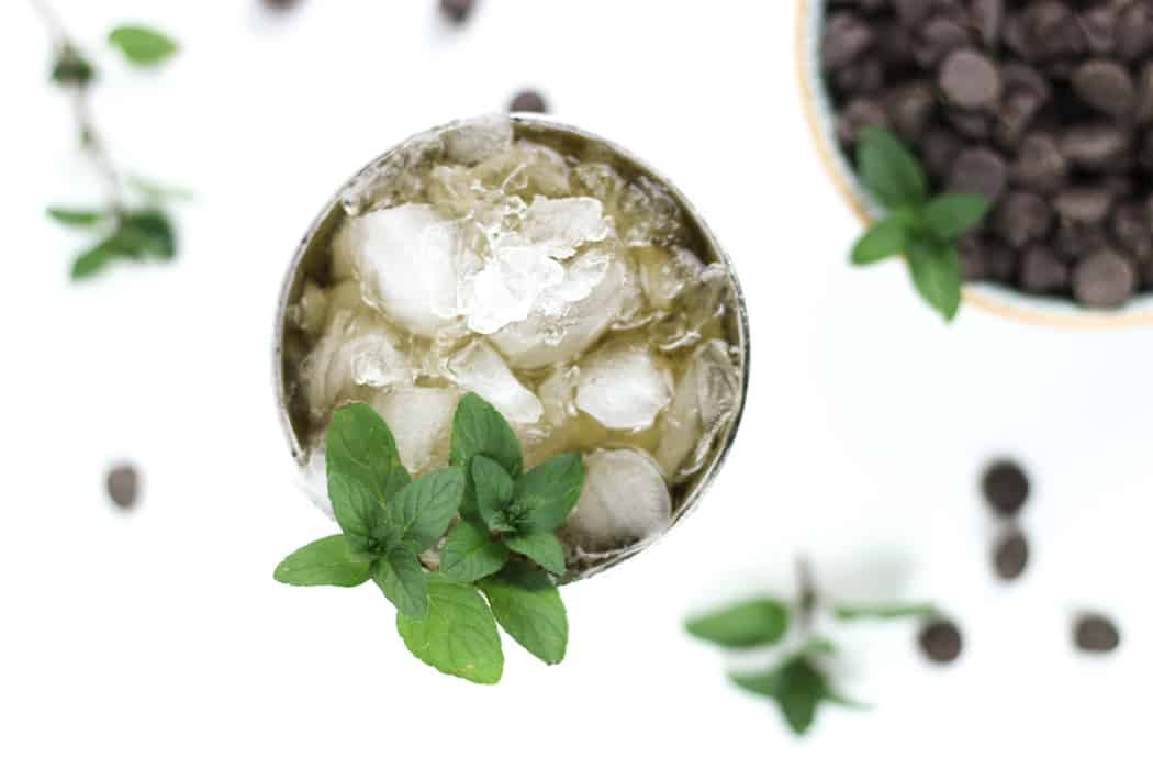 A twist on the classic Kentucky cocktail, theChocolate Mint Julep is a sweet sipper for spring and summer. Made with a chocolate mint-infused syrup, oaky bourbon and a heap of crushed ice, this drink is perfect for horse-race-watching and summer cocktail parties.(via feastandwest.com)