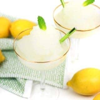 Frozen Lemon Daiquiris