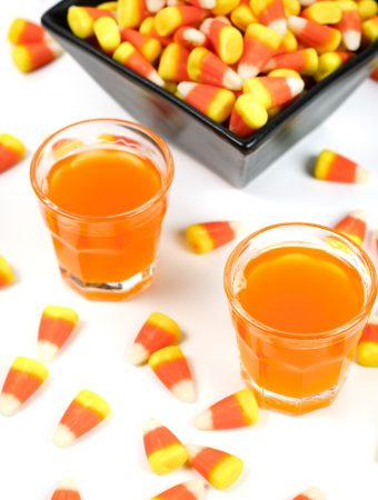 It's no trick! This Candy Corn Vodka is a total treat fit for Halloween. Infuse vodka with the iconic tri-striped candy to yield a pumpkin-colored spirit worthy of the spookiest party. (via feastandwest.com)