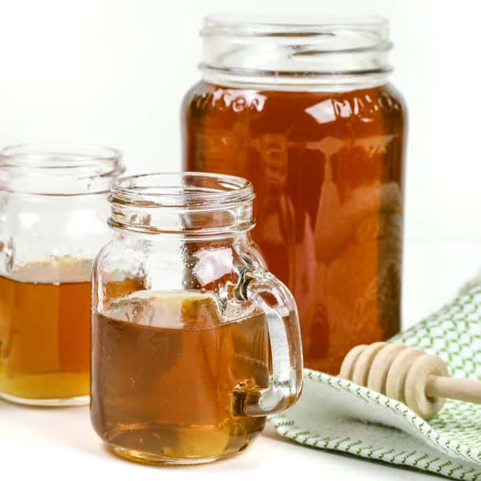 Homemade Honey Whiskey