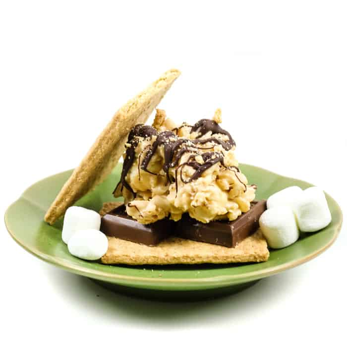 S'mores Avalanche Cookies are a quick and easy cookie you can make anytime. Whether for a holiday cookie tray or a summer camp treat, these no-bake desserts bring all the flavors of the campfire without the fire! (via feastandwest.com)