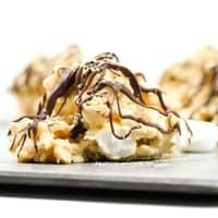 No-Bake S'mores Avalanche Cookies