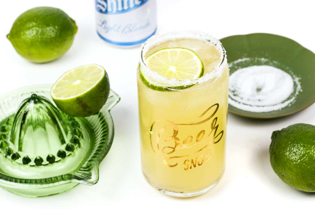 Watching the big game calls for a Beerita, a hybrid of the two best game-watching drinks: a beer and a margarita. Don't worry, no tequila is left behind in this fizzy, lime cocktail. You'll love this beer margarita recipe! (via feastandwest.com)