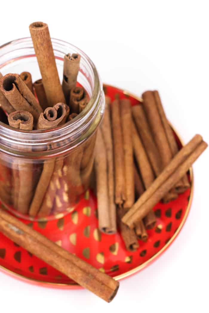 Homemade Cinnamon Whiskey fills you with the warmth of bourbon and spices. Now you can make your own spiced whiskey and control the amount of spice and ingredients. (via feastandwest.com)
