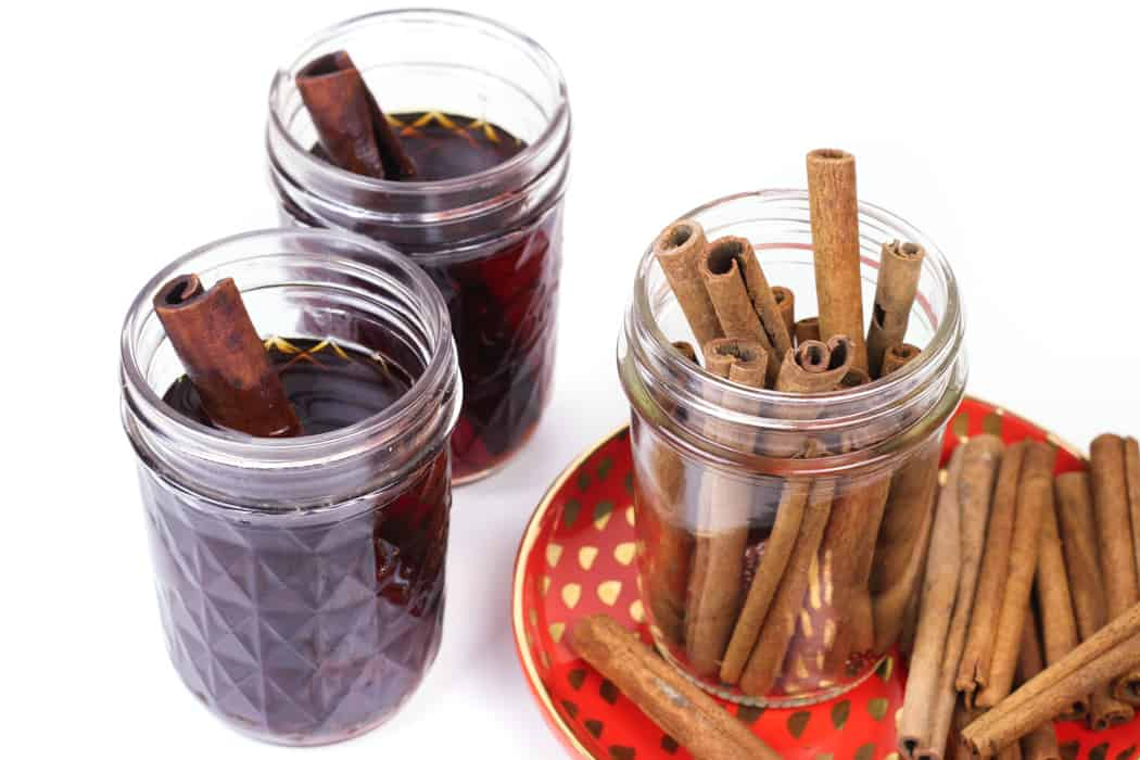 Homemade Cinnamon Whiskey fills you with the warmth of bourbon and spices. Now you can