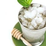 Honey Whiskey Mint Julep
