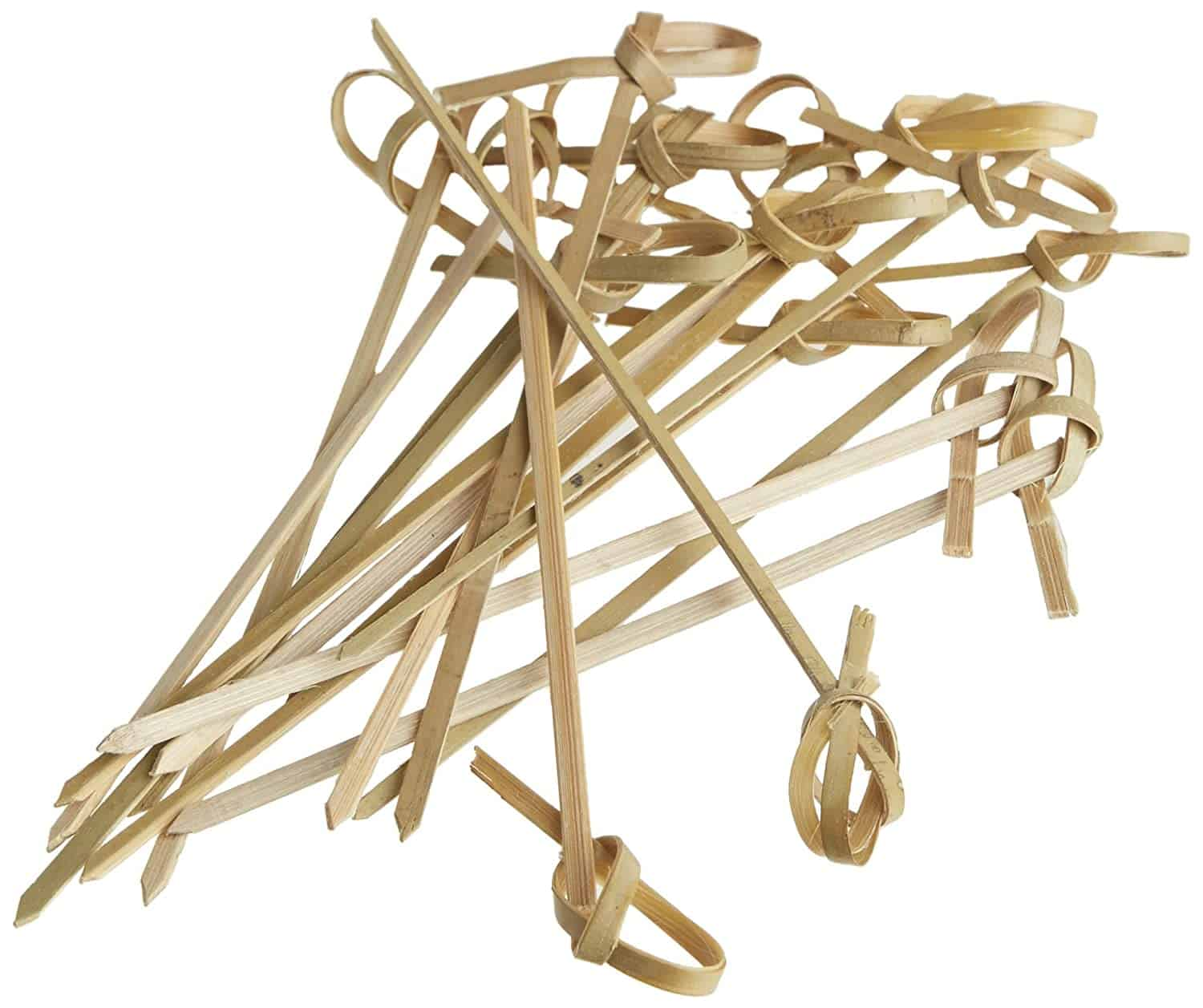 """Perfectware 4"""" Bamboo Knot Picks (Pack of 300)"""