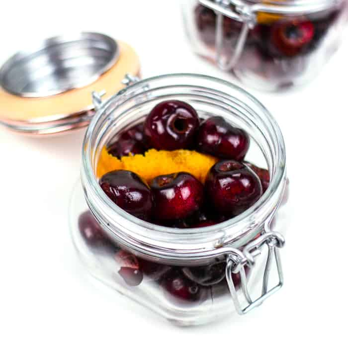 Homemade cocktail cherries are just the thing your bar needs. From old-fashioneds to manhattans, these boozy fruits beat out the neon maraschino cherries for the best cocktail garnish.(via feastandwest.com)