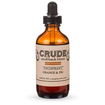 Crude Sycophant Orange & Fig Small Batch Cocktail Bitters