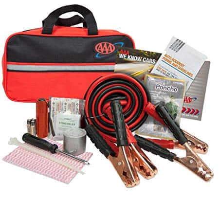 AAA Premium 42-Piece Emergency Car Kit