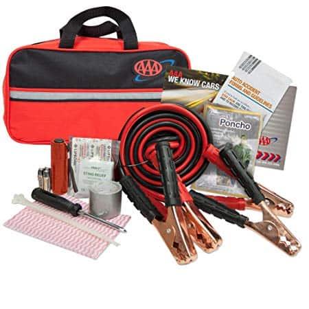 AAA Premium 42-Piece Emergency Car Kit