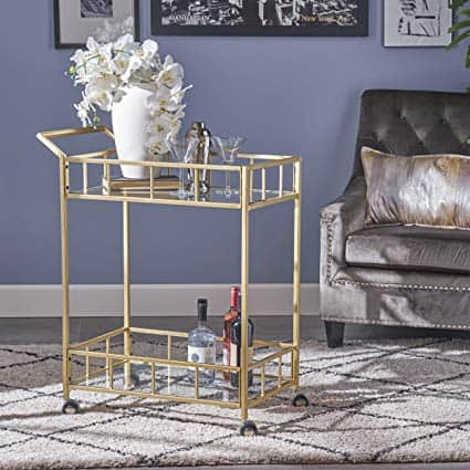 Christopher Knight Home Louise Bar Cart