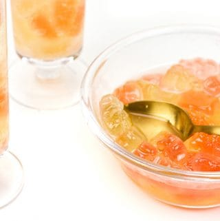 Champagne gummy bears make for a sparkling and whimsical way to celebrate anything. Enjoy them for New Years, bachelorette parties, birthday parties or anytime you want some bubbly fun on the menu! (via Feast + West)