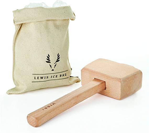 Viski Professional Lewis Bag and Mallet Kit