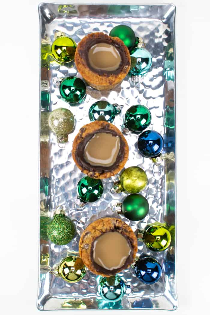 Milk and Cookies Shooters for Christmas