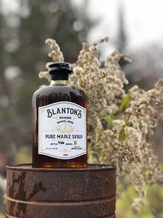 Limited Edition Bourbon Barrel Aged Maple Syrup