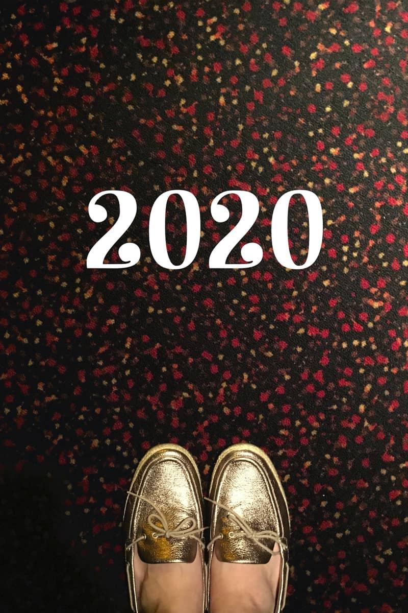 Hello, 2020 graphic