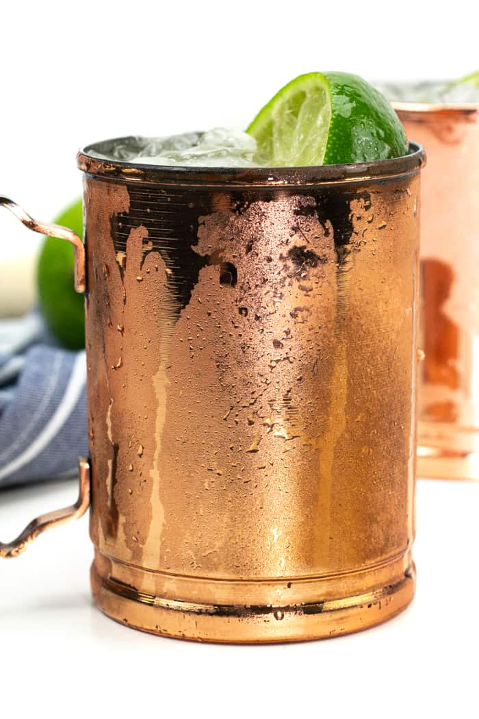 kentucky mule in a copper mule mug
