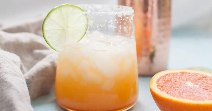 Simple Orange Lime Margarita